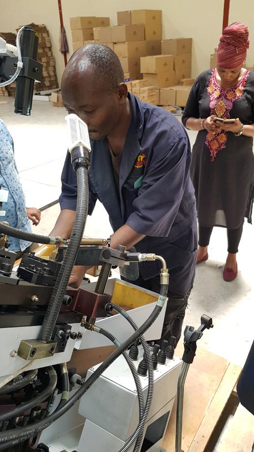 Kenya shoe factory Taiwan Shoe Machine