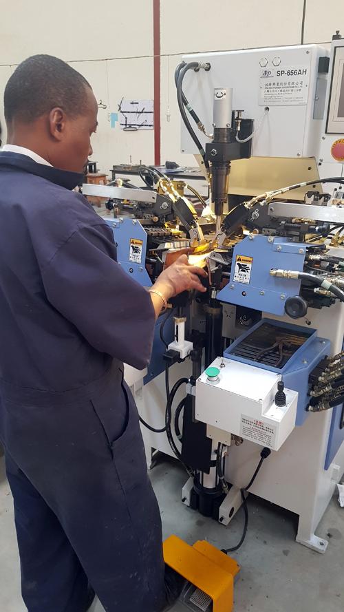 Kenya shoe factory Shoe Machines