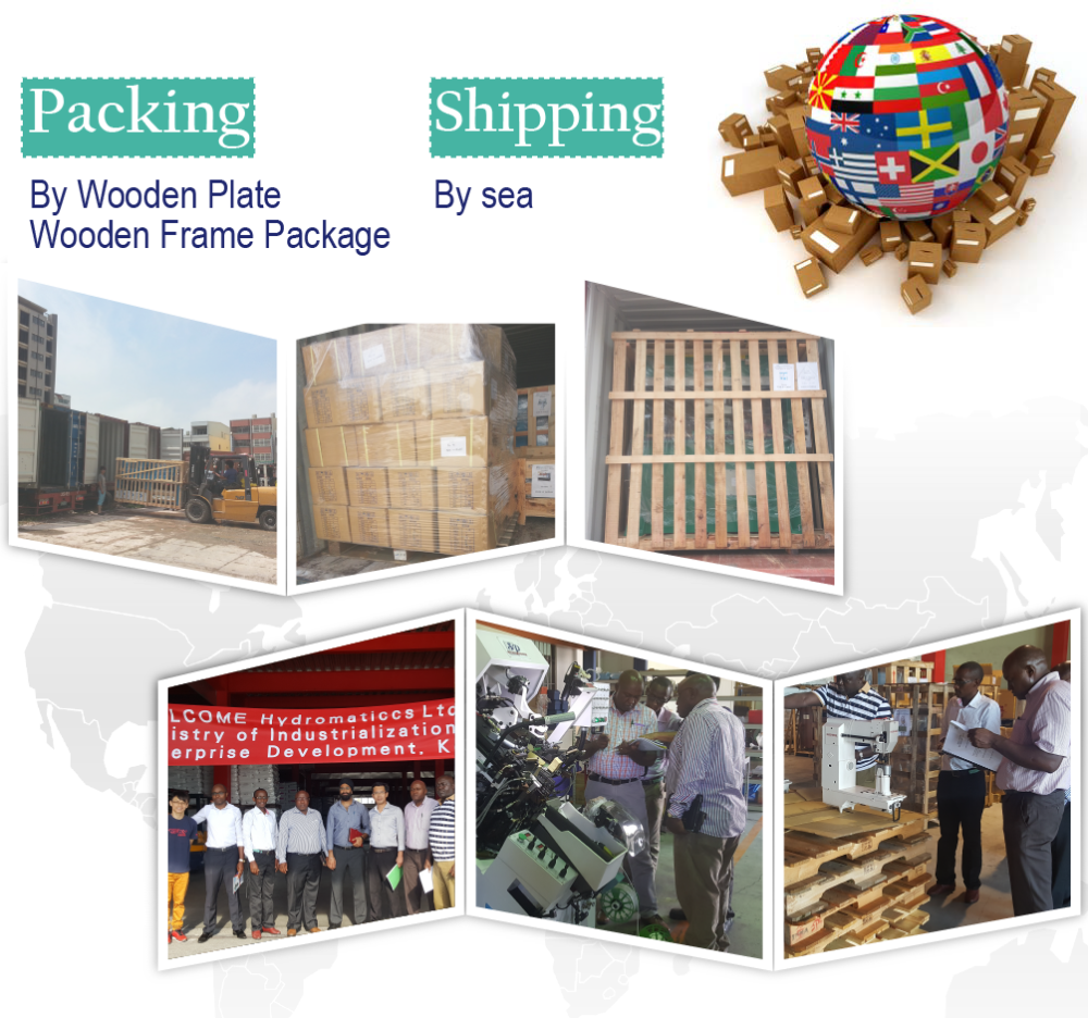 shoe machines package